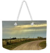 Caprock Canyon-country Road Weekender Tote Bag