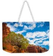 Caprock Canyon Tree Weekender Tote Bag