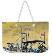 Capt. Jamie - Shrimp Boat - Photopower 01 Weekender Tote Bag