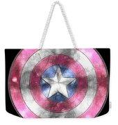 Captain America Shield Digital Painting Weekender Tote Bag
