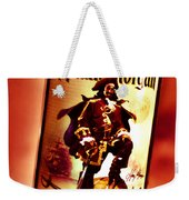 Captain Morgan Red Toned Weekender Tote Bag