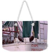 Captain Phillips And First Mate Weekender Tote Bag