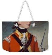 Captain Thomas Hewitt, 10th Regiment Weekender Tote Bag by William Tate