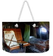 Captain's Quarters Aboard The Mayflower Weekender Tote Bag