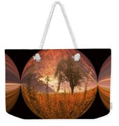 Captured Flame Weekender Tote Bag