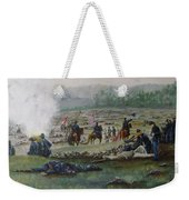 Capturing The Flag-picketts Charge Weekender Tote Bag