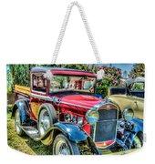 Car 5 Weekender Tote Bag