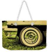 Car And Tire Weekender Tote Bag