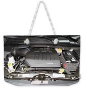 Car Engine Weekender Tote Bag