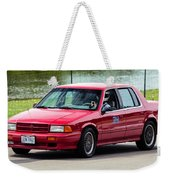 Car No. 34 - 02 Weekender Tote Bag