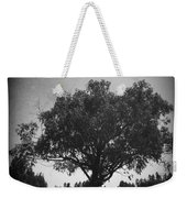 Car Parked Under A Tree Weekender Tote Bag