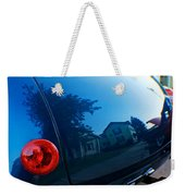 Car Reflection 8 Weekender Tote Bag