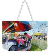 Car Ride At The Fair Weekender Tote Bag