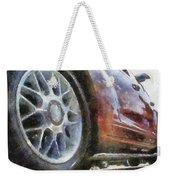 Car Rims 01 Photo Art 02 Weekender Tote Bag