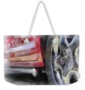 Car Rims 02 Photo Art 01 Weekender Tote Bag