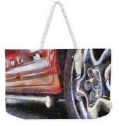Car Rims 02 Photo Art 02 Weekender Tote Bag