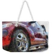 Car Rims 04 Photo Art 02 Weekender Tote Bag