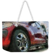 Car Rims 04 Photo Art 03 Weekender Tote Bag