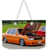 Car Show 026 Weekender Tote Bag
