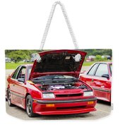 Car Show 030 Weekender Tote Bag