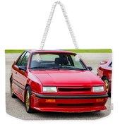 Car Show 032 Weekender Tote Bag