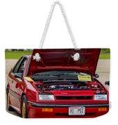 Car Show 036 Weekender Tote Bag