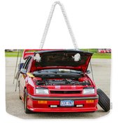 Car Show 042 Weekender Tote Bag