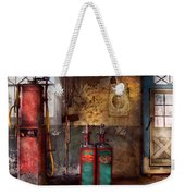 Car - Station - Gas Pumps Weekender Tote Bag