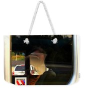 Car Window Reflection Weekender Tote Bag