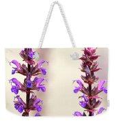 Caradonna Salvia Flowers Weekender Tote Bag