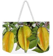 Carambolas Starfruit Three Up Weekender Tote Bag