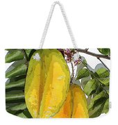 Carambolas Starfruit Two Up Weekender Tote Bag