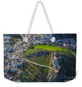 Carcabuey Castle From The Air Weekender Tote Bag
