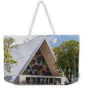 Cardboard Cathedral Weekender Tote Bag