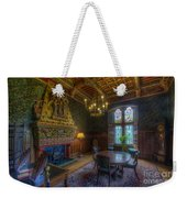 Cardiff Castle Apartment Dining Room Weekender Tote Bag