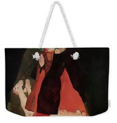 Cardinal And Nun Weekender Tote Bag
