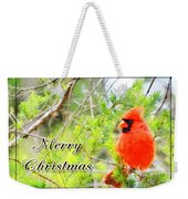 Cardinal Christas Card Weekender Tote Bag
