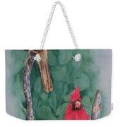 Cardinal Companions Weekender Tote Bag
