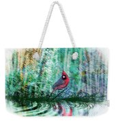Cardinal - Featured In Comfortable Art-wildlife-and Nature Wildlife Groups Weekender Tote Bag