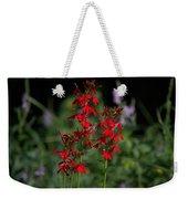 Cardinal Flowers Weekender Tote Bag