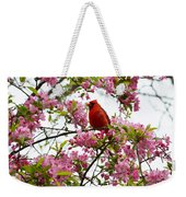 Cardinally Beautiful Weekender Tote Bag