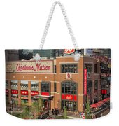 Cardinals Nation Ballpark Village Dsc06176 Weekender Tote Bag