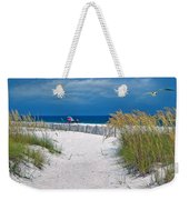 Carefree Days By The Sea Weekender Tote Bag