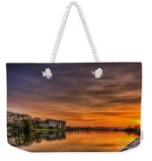Carew Castle Sunset 1 Weekender Tote Bag