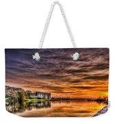 Carew Castle Sunset 2 Weekender Tote Bag