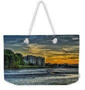 Carew Castle Sunset 3 Weekender Tote Bag
