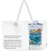 Carey Chen Big Chill Vodka By Jimmy Johnson Weekender Tote Bag