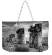 Carhenge Automobile Art 3 Weekender Tote Bag