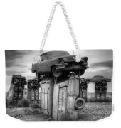 Carhenge Automobile Art 4 Weekender Tote Bag