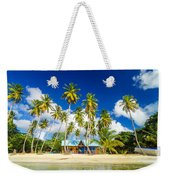 Caribbean Beach Shack Weekender Tote Bag